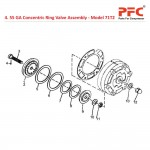 55 GA Concentric Ring Valve Assembly For 71T2