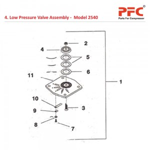 Low Pressure Valve Assembly