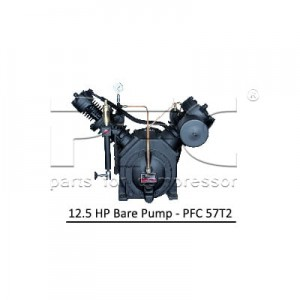 12.5 HP Air Compressor - Bare Pump - PFC 57T2
