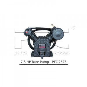 7.5 HP Air Compressor - Bare Pump - PFC 2525