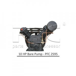 10 HP Air Compressor - Bare Pump - PFC 2595