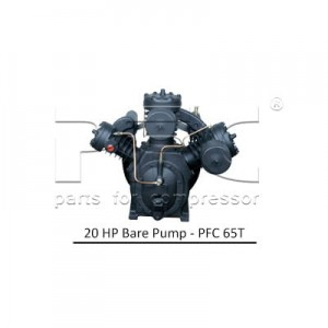 20 HP Air Compressor - Bare Pump - PFC 65T