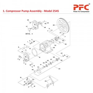 Compressor Pump Assembly for 2545