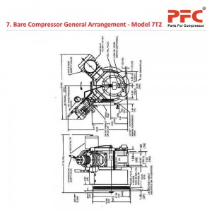 Compressor Drive And Accessories For 7T2