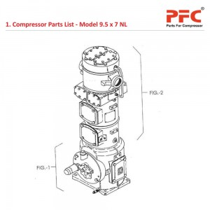 Compressor Parts List IR 9 1/2 x 7 ESV NL Parts