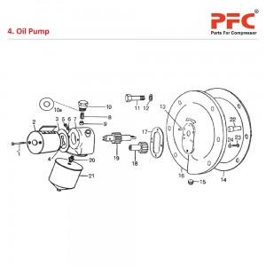 Oil Pump - Atlas Copco Air Compressor Parts