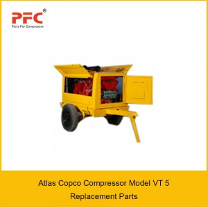 Atlas Copco Compressor Model VT 5 Replacement Parts