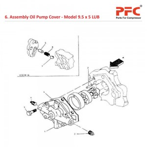 Oil Pump Cover IR 9 1/2 x 5 ESV LUB Parts