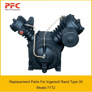 Ingersoll Rand Type 30 Model 71T2 Replacement Parts