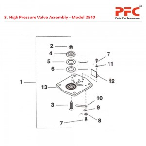 High Pressure Valve Assembly